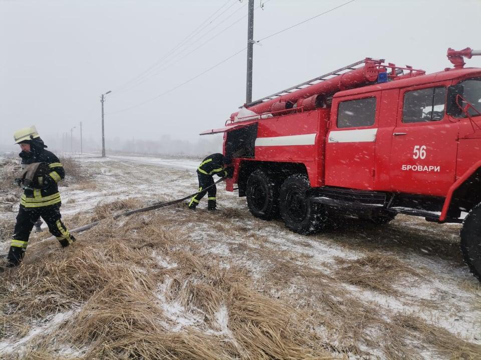 Пожежа в Калинівці