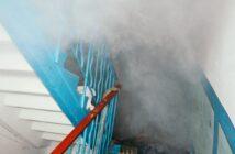Загорання сміття на Петлюри 16-Г, 4 березня, фото - ДСНС