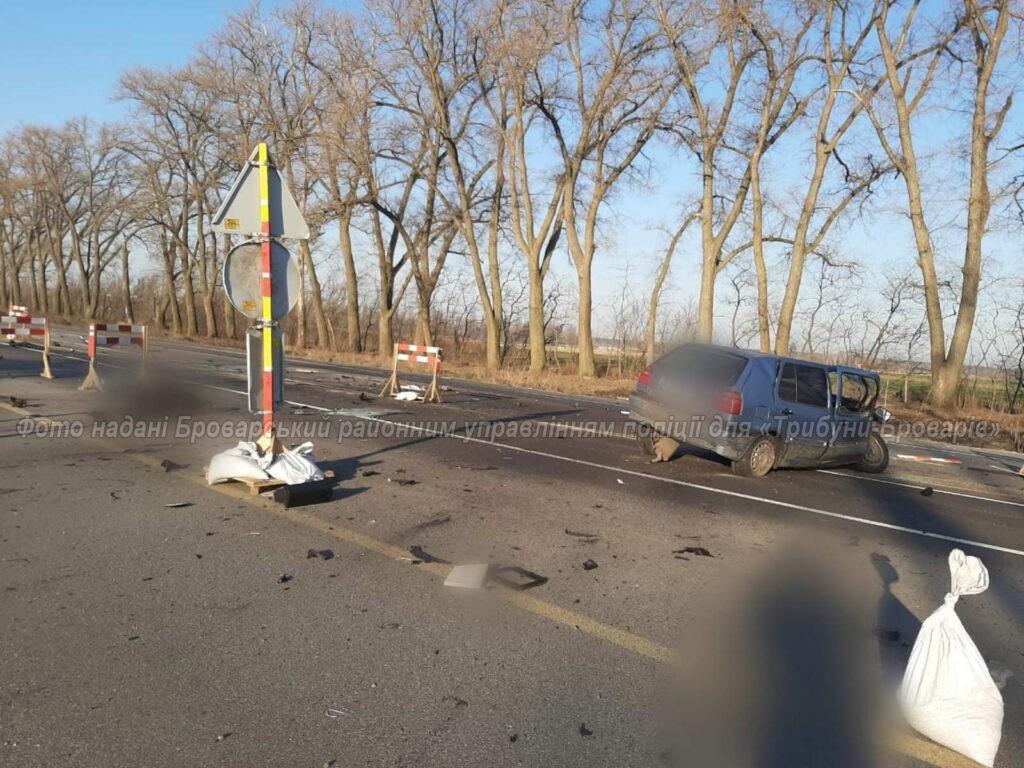 Смертельна ДТП біля Семиполок, фото – поліція