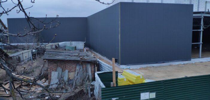 У Старому центрі Броварів будують супермаркет із порушеннями