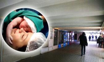 Броварчанка народила дитину у підземному переході