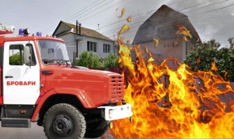 Пожежа на Київській