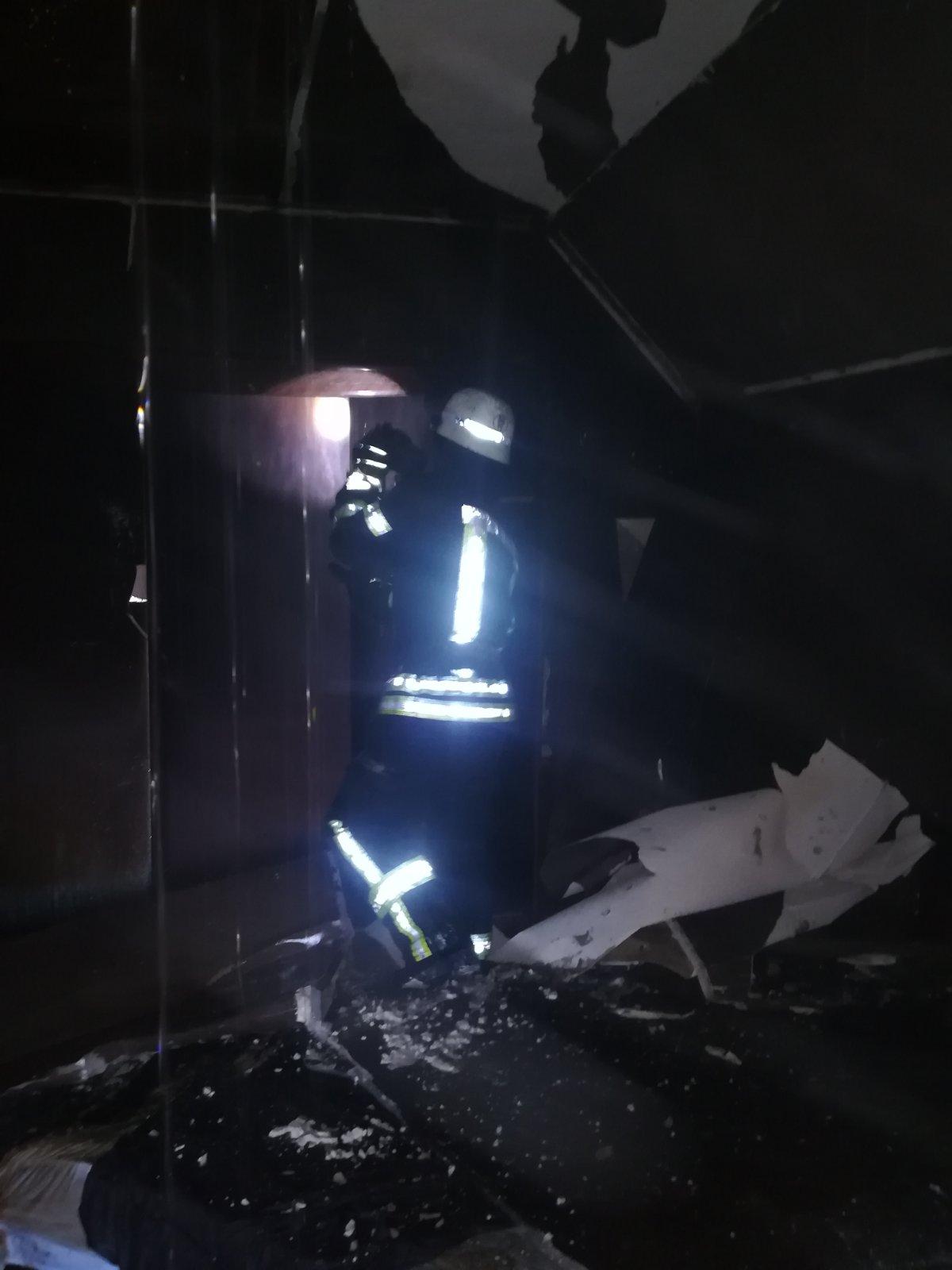 Пожежа на Київській, фото ДСНС