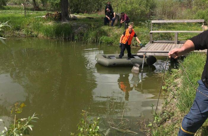 У Требухові потонув чоловік, фото - ДСНС