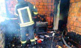 У Броварах у власній квартирі в пожежі загинула 95-річна жінка. ФОТО