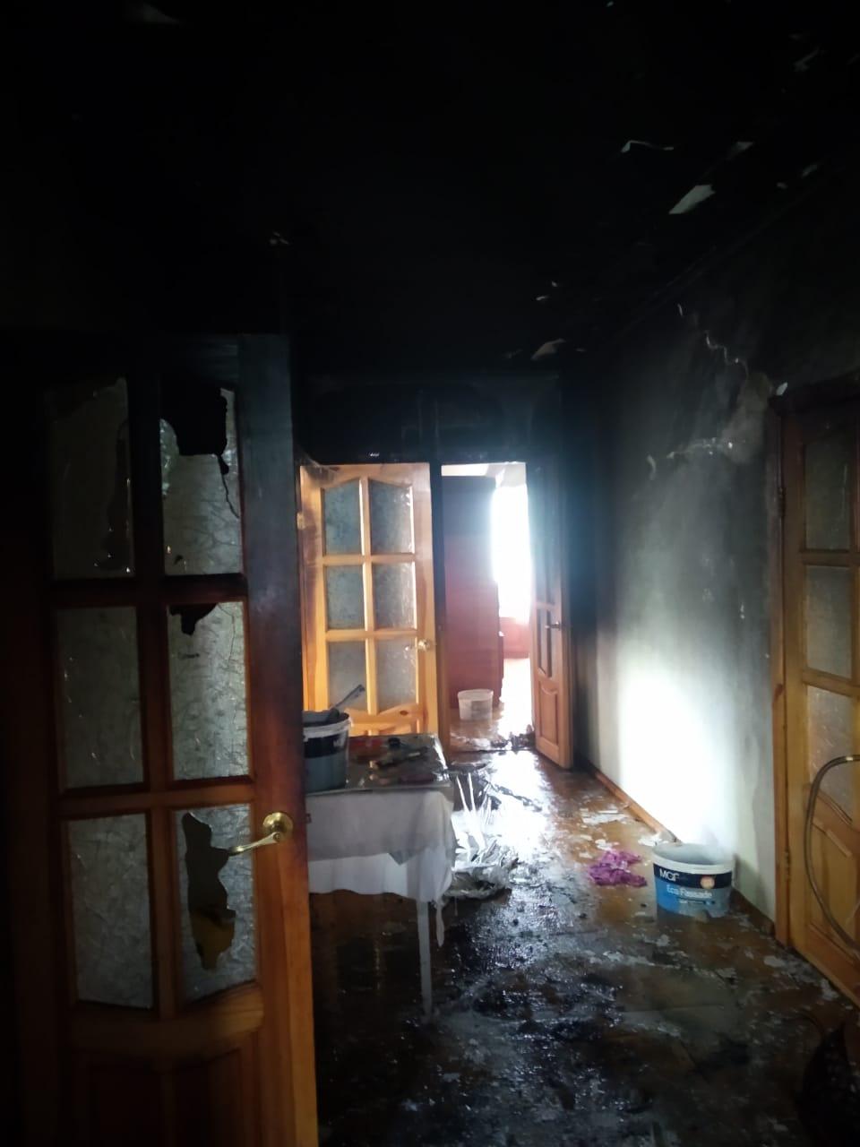 Пожежа в Пухівці, фото - ДСНС