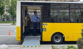 Перевезення пасажирів, автобус, фото Вечірній Київ
