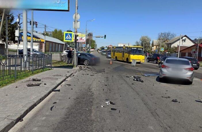 ДТП на Київській