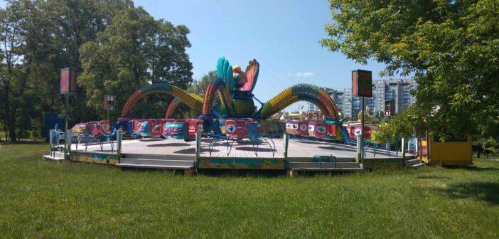 Конкурси: у парках «Перемога» та «Приозерний» розташуються об'єкти торгівлі та розваг