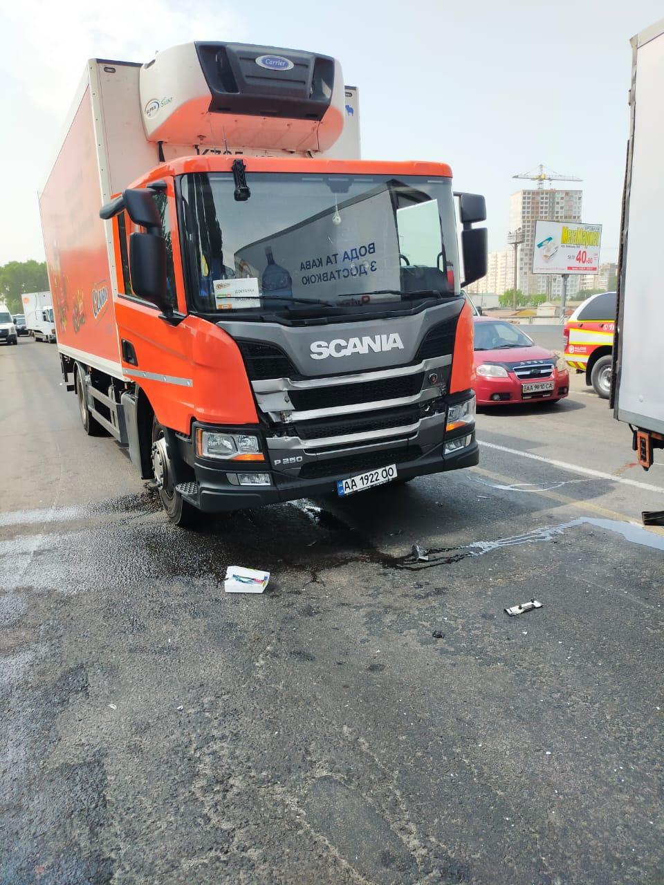 ДТП, об'їзна, окружна, вантажівки, фото - ДСНС