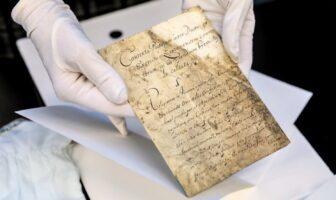 Конституція Пилипа Орлика. Фото – Укрінформ