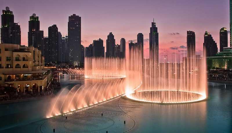 фонтан, Дубаї
