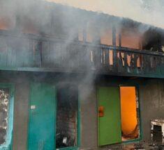 90% опіків тіла: у Рожнах під час пожежі постраждав літній чоловік. ФОТО +18