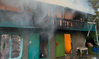 Пожежа в Рожнах, 22.07.2021, фото - ДСНС