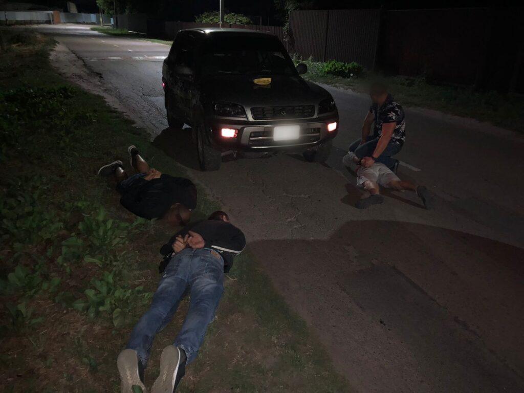 Викрадення автомобіля в Красилівці, фото -броварська поліція