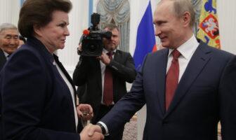 Терешкова з Путіним