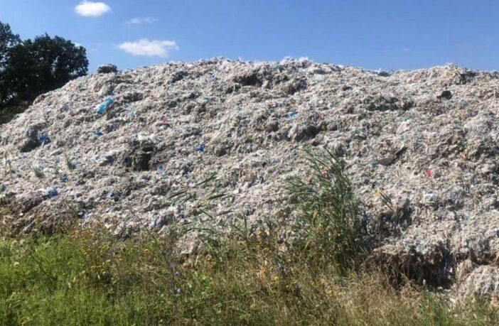 Промислові відходи, сміттєзвалища, фото - поліція