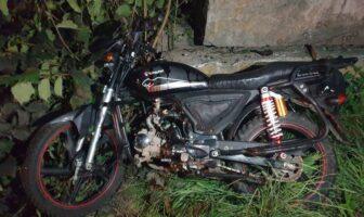 ДТП з мотоциклом в Калиті, фото - поліція