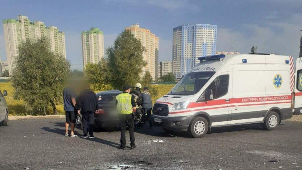 ДТП аварі яна об'їзній окружній дорозі, фото - поліція