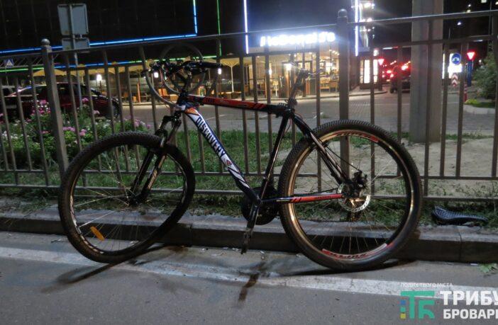 ДТП за участі велосипедиста, фото - Захар