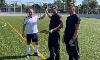 рятувальники, міні-футбол