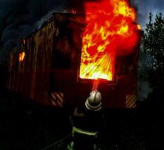 У селі Захарівка Великодимерської ОТГ вогонь забрав життя людини. ФОТО (+18)