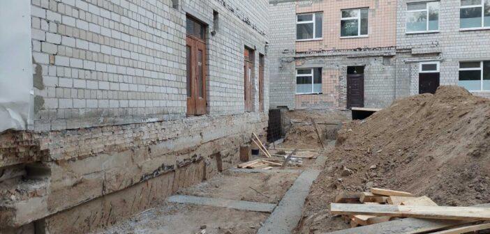 У Броварах субпідрядні організації призупинили реконструкцію дитячого інфекційного відділення
